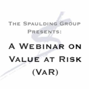 A webcast on Value at Risk (VaR)